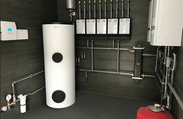 Монтаж системы отопления в частном доме Королев