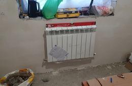 Монтаж радиатора отопления в частном доме Королев