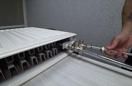 Монтаж радиаторов отопления с нижней подводкой Королев