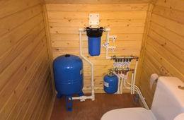 Монтаж водоснабжения в частном доме Королев