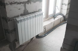 Замена радиаторов отопления в квартире Королев